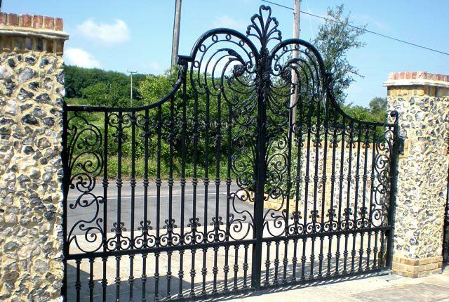 76 Best Beautiful Driveway Gate Designs Images On