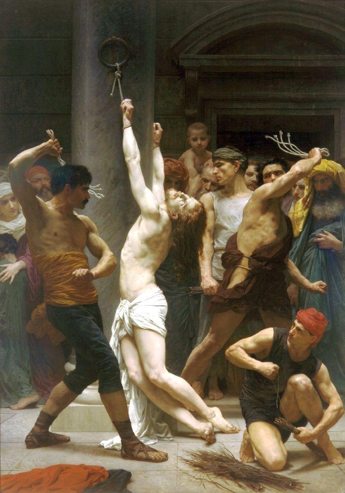 William-Adolphe Bouguereau (1825 – 1905)  - poor Jesus. :(