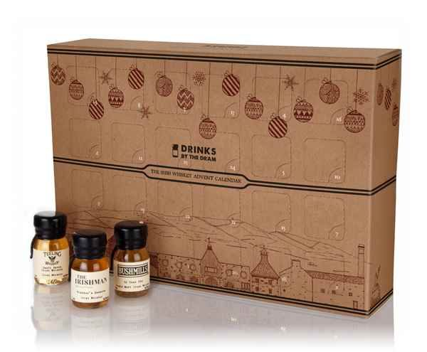 The Irish Whiskey Advent Calendar (2016 Edition) - Master of Malt could do a different set each year!