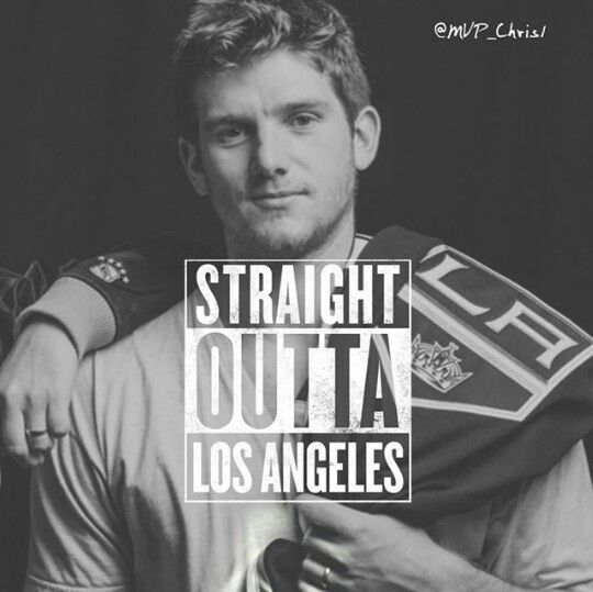 Jonathan Quick - Straight Outta La! #GKG #isitoctoberyet
