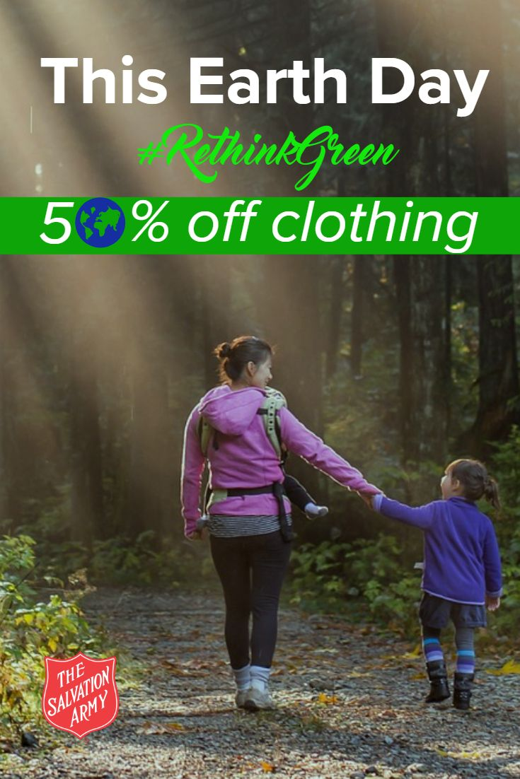Rethinkgreen At The Salvation Army Earth Day Sale On Saturday