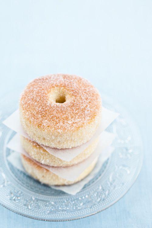 Doughnuts al forno