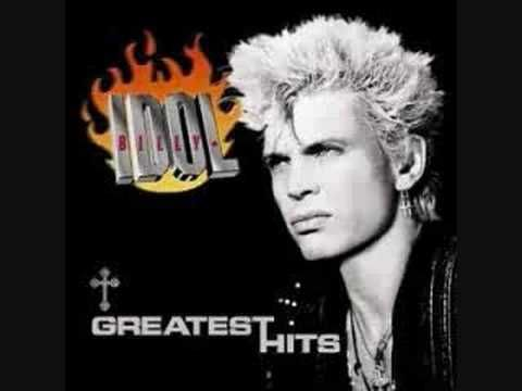 """Billy Idol - """"Mony Mony"""" who didn't love dancing and screaming to this with their friends"""