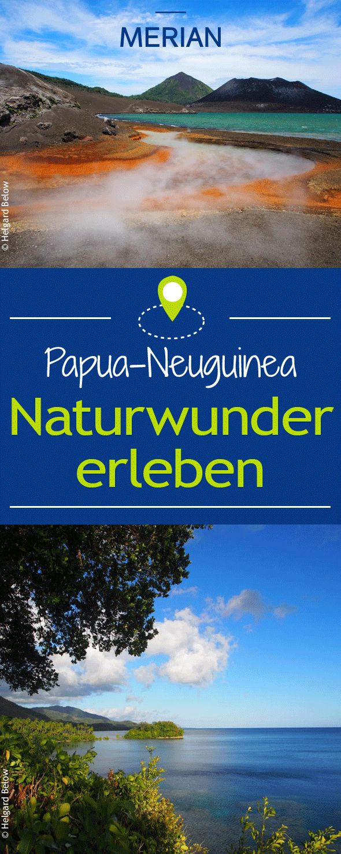In Papua-Neuguinea ist man der Natur so nah wie sonst nirgends. Bei diesen Naturwundern werdet ihr gar nicht mehr aus dem Staunen herauskommen!