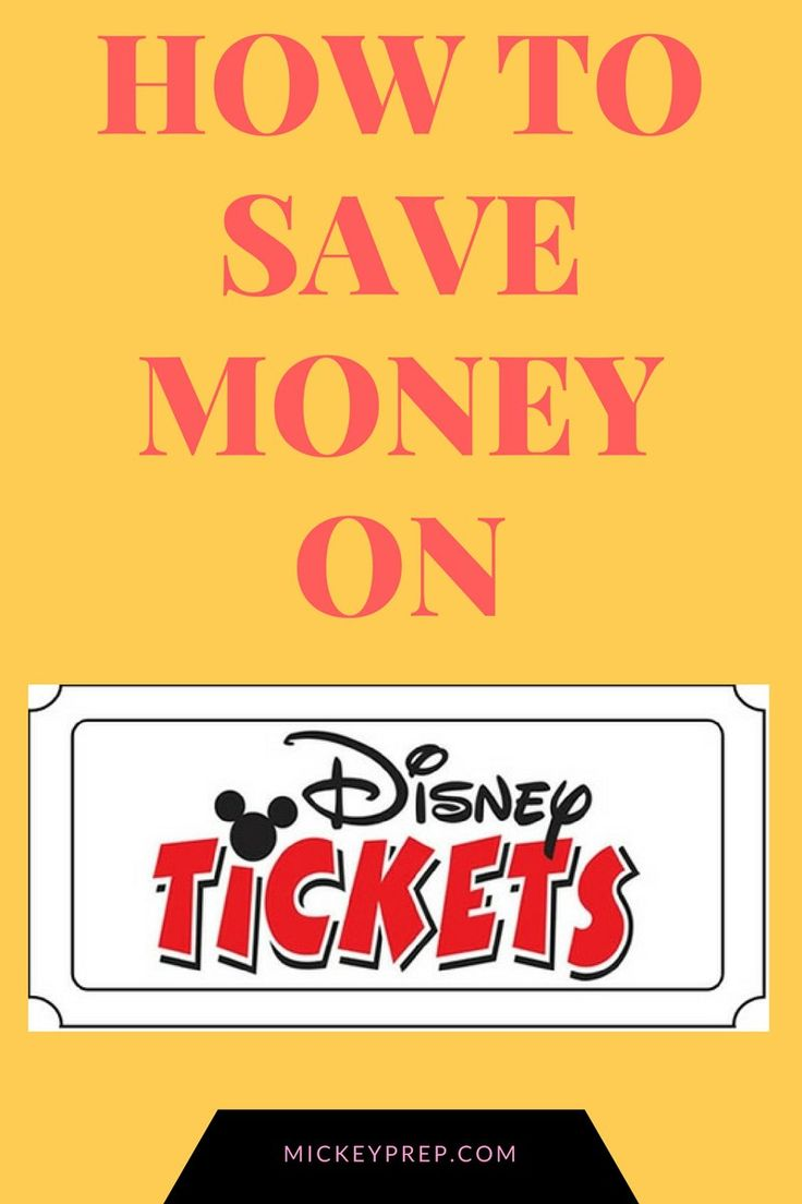 disney world florida ticket deals