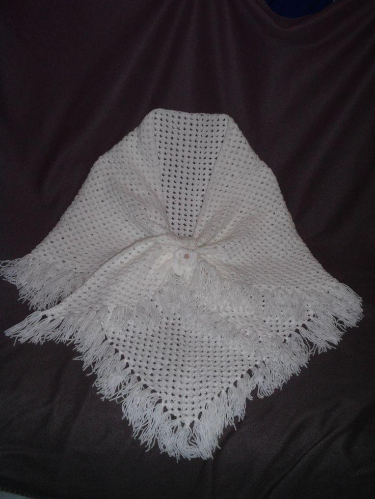 Grandma patterned scarf