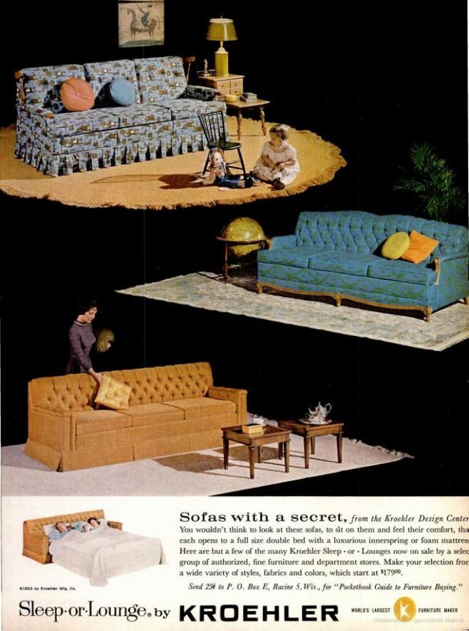 17 best images about vintage furniture ads on pinterest for Furniture 08081