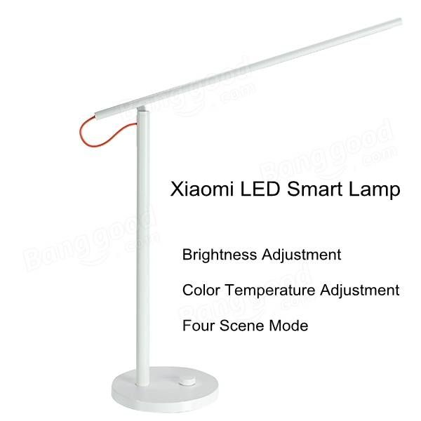 Original Xiaomi LED Smart Table Lamp Dimming Reading Light For Cellphone