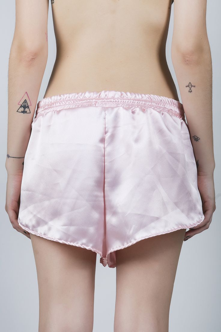 "The ""baby pink"" hot shorts #pcpclothing"