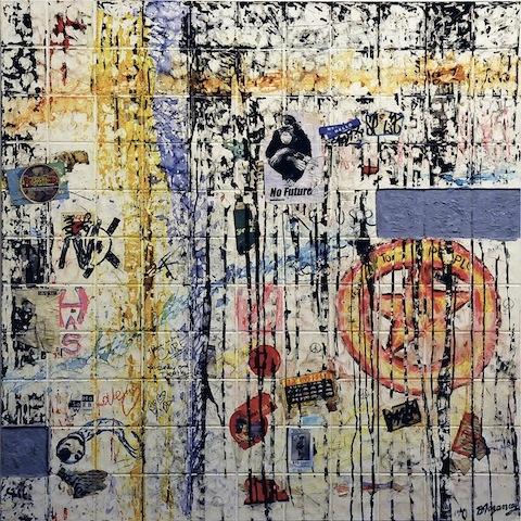 Burhan Doğançay   http://artlifemagazine.com/art-exhibitions/burhan-dogancay-retrospective-istanbul-museum.htm#