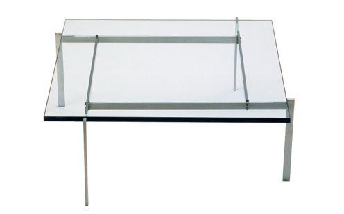 PK61 Soffbord  (Glas)
