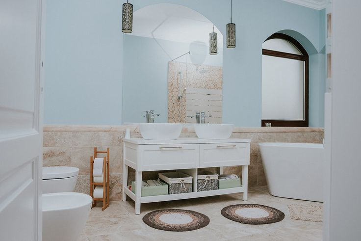 Parent's bathroom #bathroom #design #furniture #saramob #american #style #classic #one #romania
