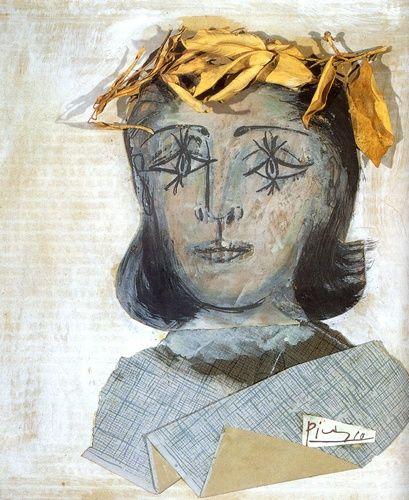 Pablo Picasso >> Portrait of Dora Maar (1941)