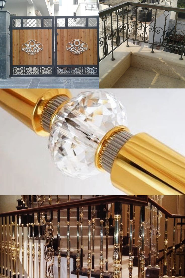 Impressions With the Stylish Grande Forge India Railing ...