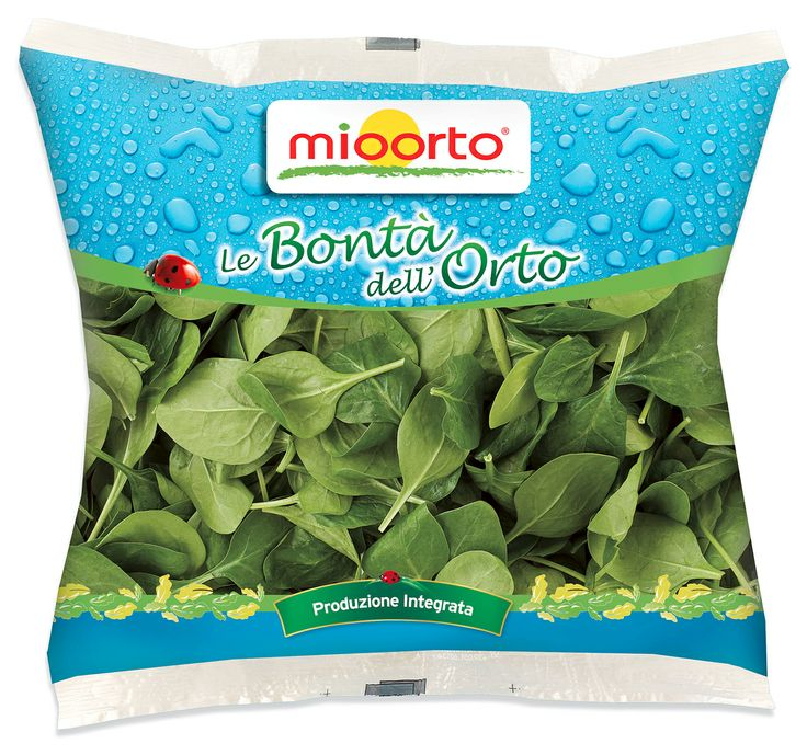 MIOORTO - packaging spinaci