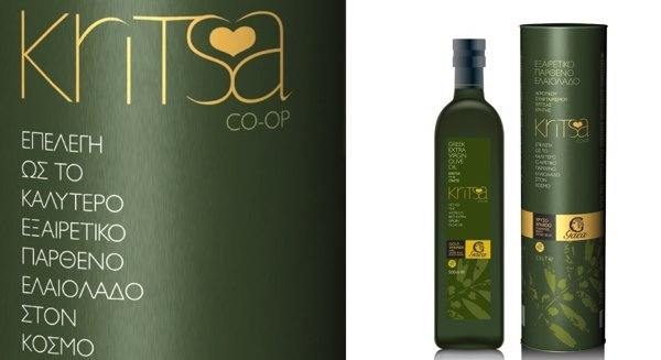 Kritsa /Gaea: one of the worlds best olive oils by DASC Branding, Athens , via Behance