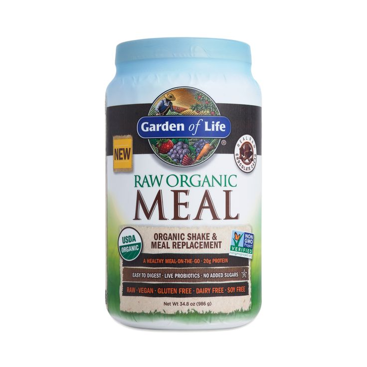 Shop Garden of Life Chocolate Raw Organic Meal Replacement Shake at wholesale price only at ThriveMarket.com
