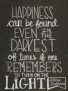 dumbledore light quote - Google Search