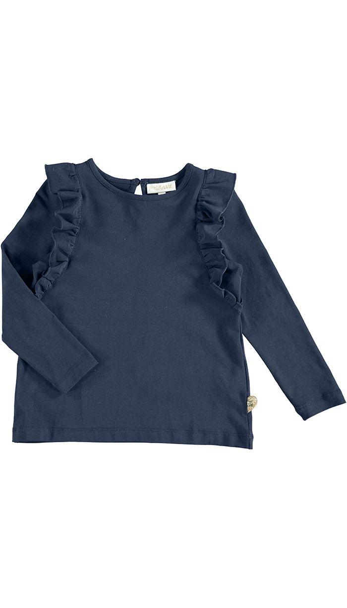 Donovan Lt T-shirt, Dark Blue eller Purple str. 98, POMPdeLUX