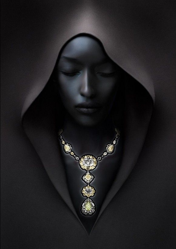 Black Daydreams with Diamonds: I love it. This is something I'd put on my wall. Personally I think the diamonds are unnecessary in this one. It would be an incredible pic without the bling. If someone knows who drew or designed this, please tell me so I can go to his/her website.: