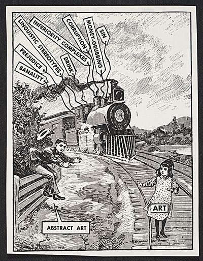 Citation: The rescue of art, ca. 1946 . Ad Reinhardt papers, Archives of American Art, Smithsonian Institution.