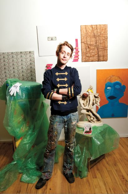 Inside Macaulay Culkin's Bizarre Art Collective