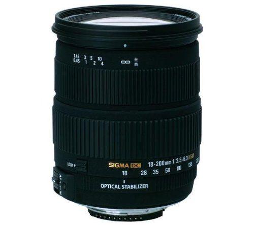 Sigma - Objetivo estabilizador 18-200 mm f/3,5-6,3 DC HSM OS (rosca para filtro de 72 mm) para Nikon B000NOSCGW - http://www.comprartabletas.es/sigma-objetivo-estabilizador-18-200-mm-f35-63-dc-hsm-os-rosca-para-filtro-de-72-mm-para-nikon-b000noscgw.html
