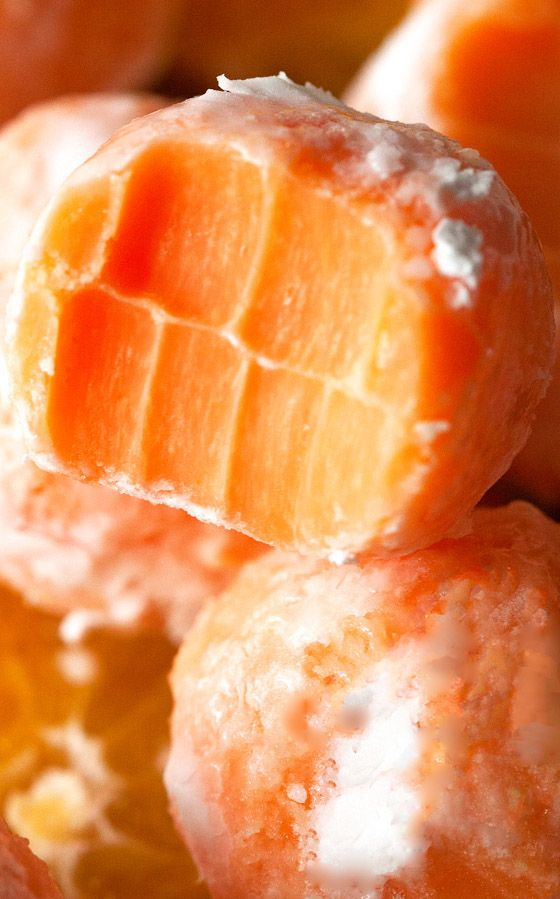 Melt In Your Mouth Orange Creamsicle Truffles