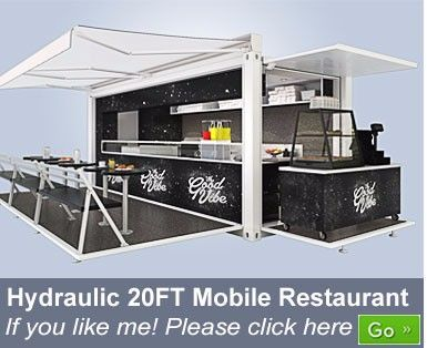 Mobile Container Exhibition Booth Design Pop Up Shipping Container Showroom For Sale