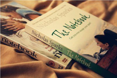 I love Nicholas Sparks because he writes easy, sappy, romantic stories that are sure to warm your heart.