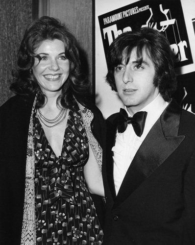 """""""The Godfather"""" (Premiere) Jill Clayburgh, Al Pacino 1972 / Paramount Pictures - Clayburgh & Pacino lived together for 5 years when first breaking into the business."""