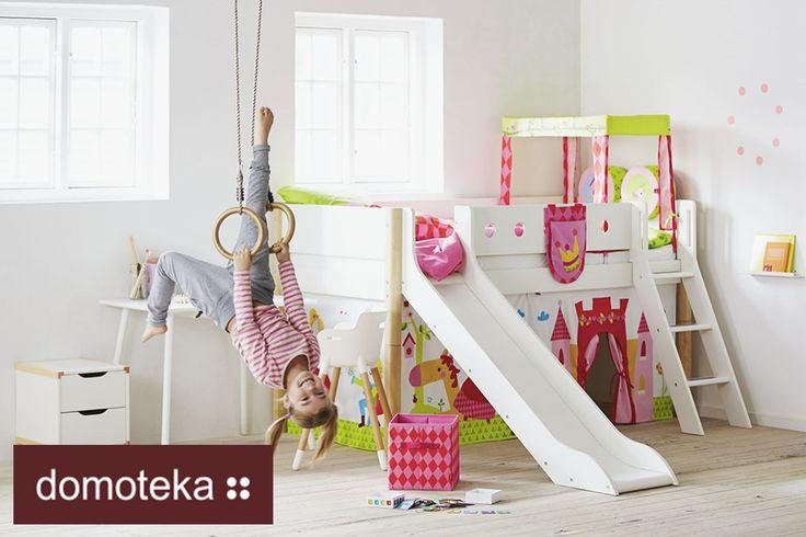 Pokój dziecięcy z małym placem zabaw? Do zrobienia z salonem Flexa!