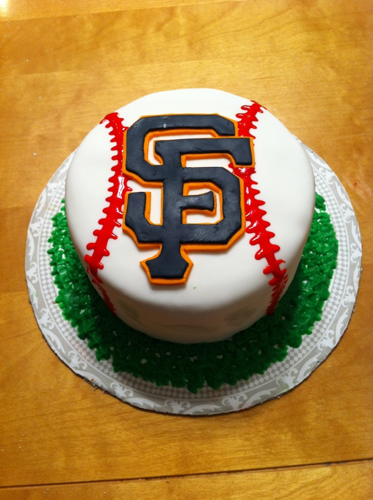 Birthday Cake Design San Francisco : SF Giants Cake San Francisco Treats Pinterest ...
