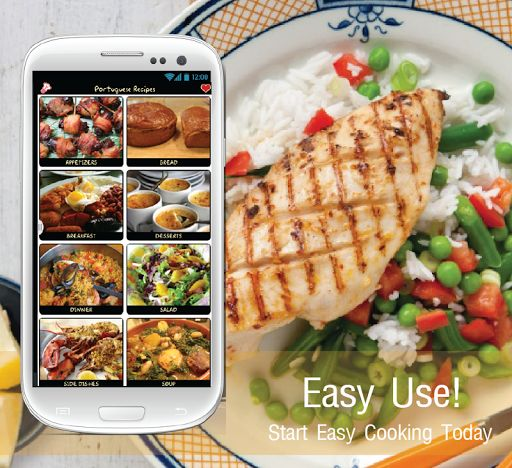 Portuguese recipe app gives you the taste and flavour of Portuguese with a wide collection of recipes, not just from Portugal but from all variety cuisines from different parts of the world.For all Portuguese food recipe lovers we have some awesome collec