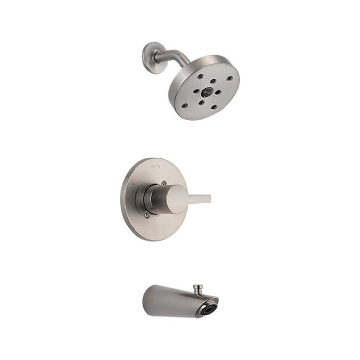 T14461 Ss Compel 14 Series Mc Tub Shower Trim Bath