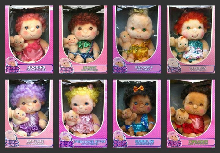 hugga bunch dolls 80 90s dolls pinterest childhood. Black Bedroom Furniture Sets. Home Design Ideas