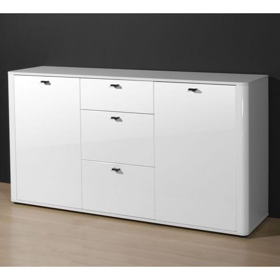 Modern White High Gloss Sideboards