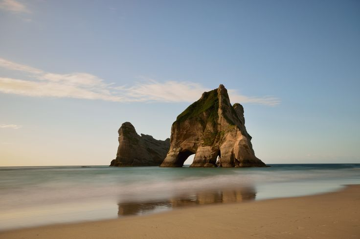 #Archway #Islands #Wharariki #Beach #NZ