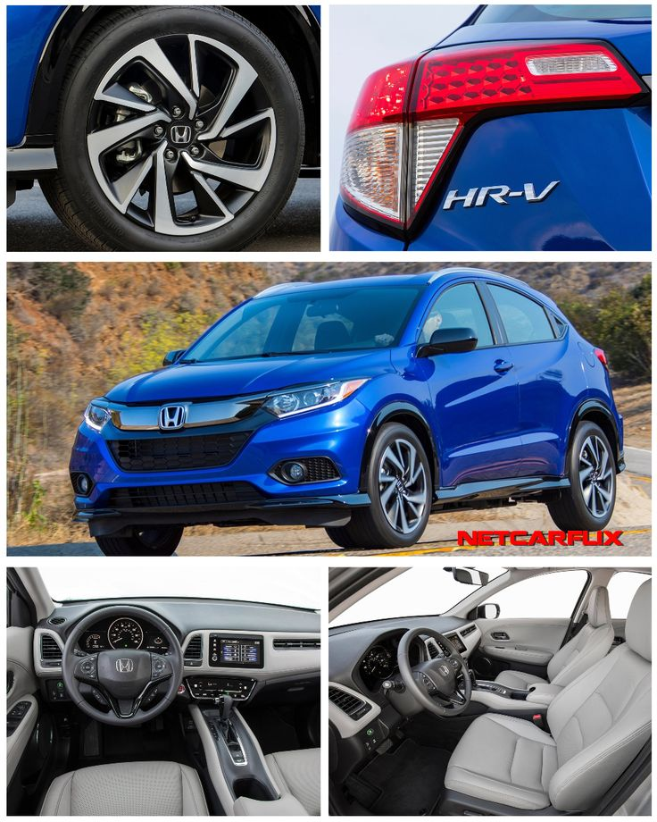2019 Honda HRV HD images, Specs, information and Videos