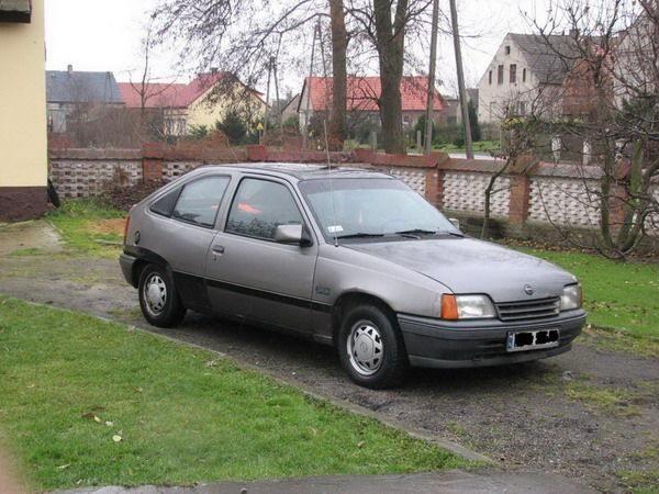 Opel Kadett model E diesel year 1988