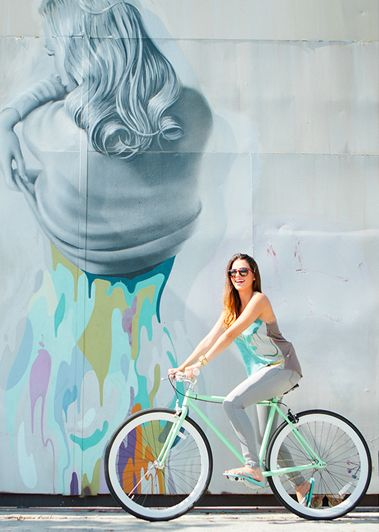 There's A Bike In It: Vividly's Art Inspired Fashion