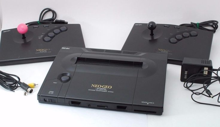 NEO GEO AES ROM Console System w/2 fighting controllers TESTED Japan [EXC+++]: $469.00 End Date: Thursday Mar-1-2018 16:02:32 PST Buy It…