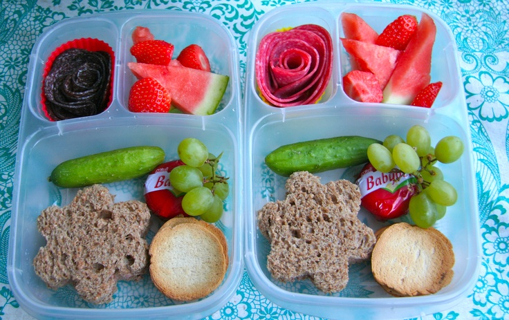 A summery bento box lunch packed in our fantastic Easy Lunchboxes!