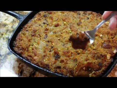 83 best food and recipes images on pinterest youtube cooking how to make the worlds best southern cornbread dressing crispy outside creamy inside forumfinder Gallery