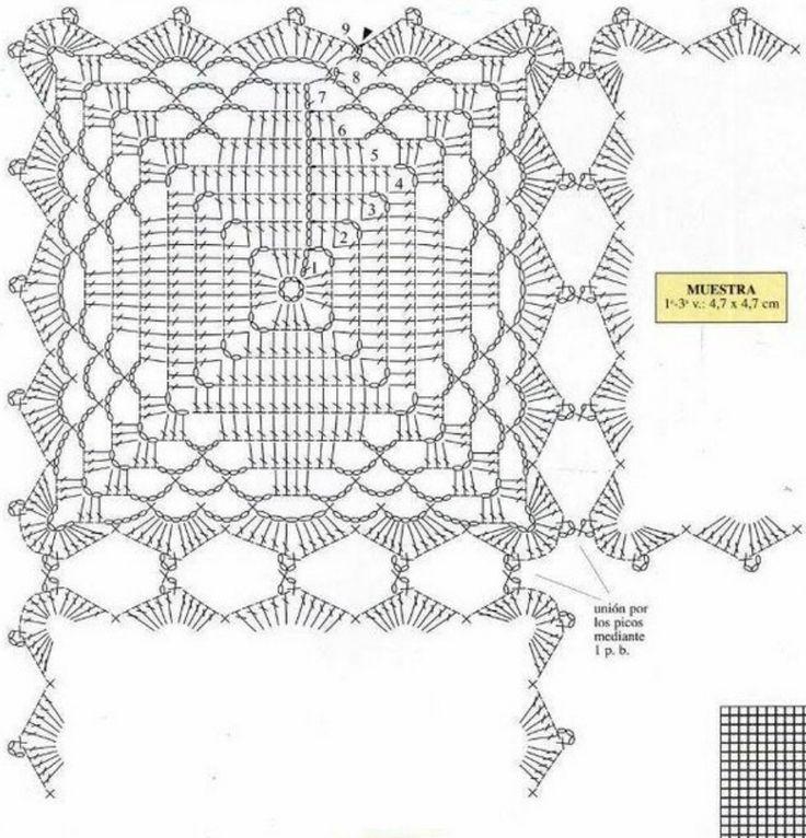 428 best crochet diagram images on pinterest crochet chart ruta crochet diagramcrochet ccuart Gallery