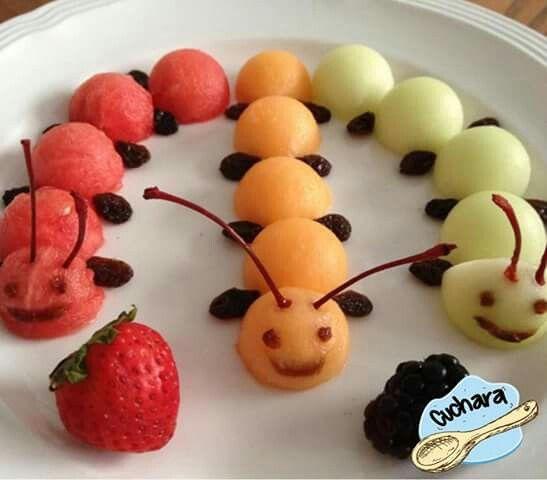 Desayuno creativo para los pequeños