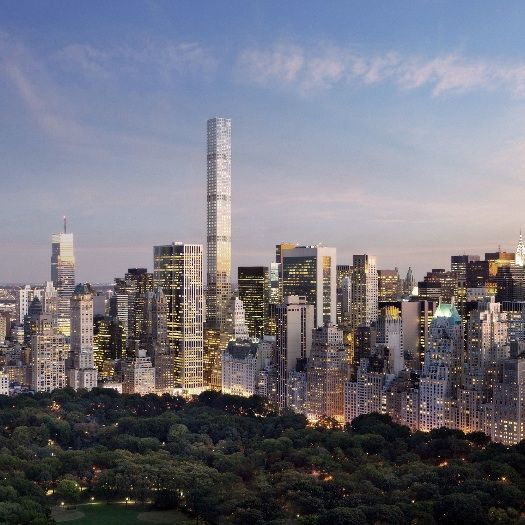 432 Park Avenue   Rafael Viñoly Architects   View from Central Park