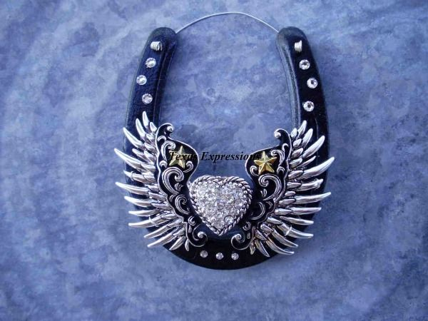 Heart with Wings & Crystals