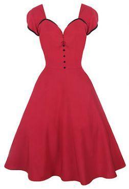 Robe rétro années 50
