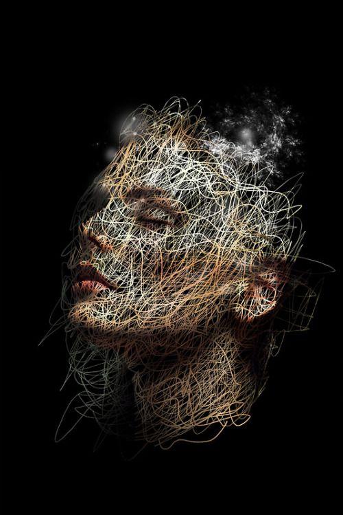 -Randy Monteith-  'straw dust'